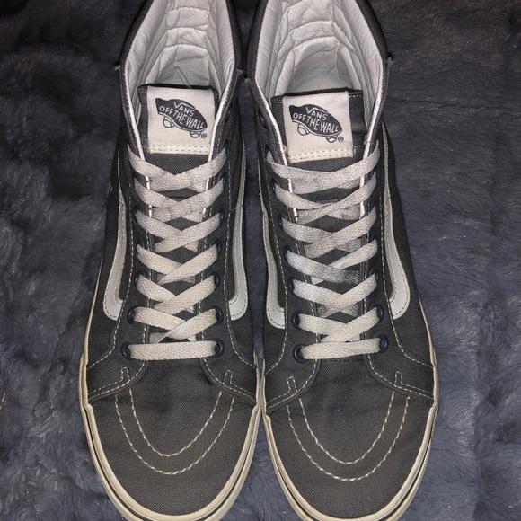 64ff42e2e3 Vans Shoes - Skate high grey vans